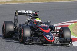 Oliver Turvey, McLaren MP4-30