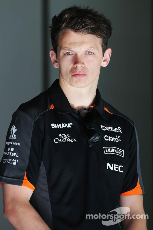 Nick Yelloly, Sahara Force India F1 VJM08 testrijder