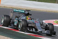 Pascal Wehrlein, Mercedes AMG F1 W06 Piloto de reserva