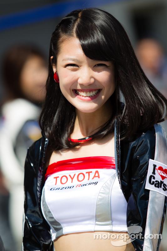 A charming Gazoo Racing girl