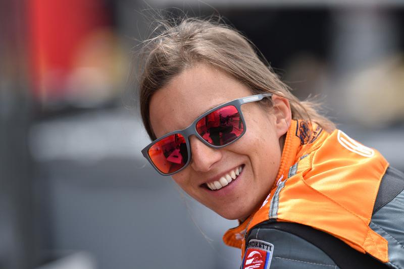 Simona de Silvestro, Andretti Autosport, Honda