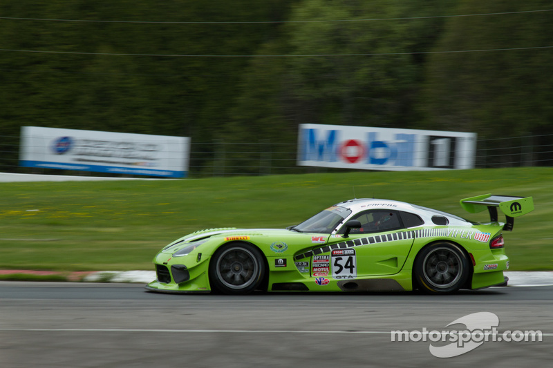 #54 Black Swan Racing SRT Viper: Tim Pappas