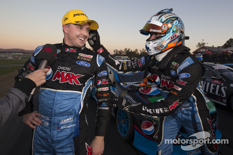 1. Mark Winterbottom, Prodrive Racing Australia, Ford, und Chaz Mostert, Prodrive Racing Australia, Ford