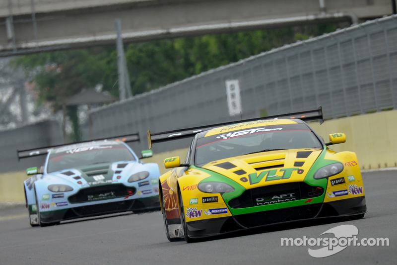 #88 Craft-Bamboo, Aston Martin: Frank Yu, Richard Lyons