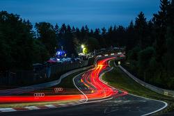 Trailing lights at Pflanzgarten