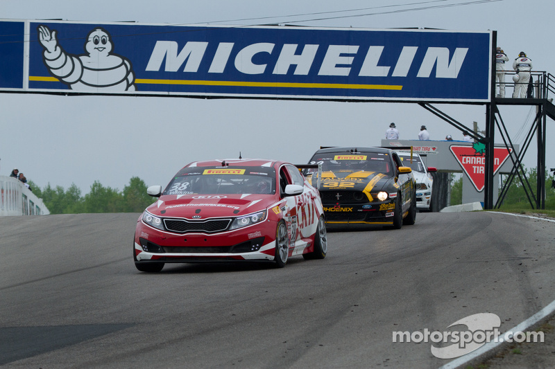 #38 Kinetic Motorsports/Kia Racing, Kia Optima: Mark Wilkins