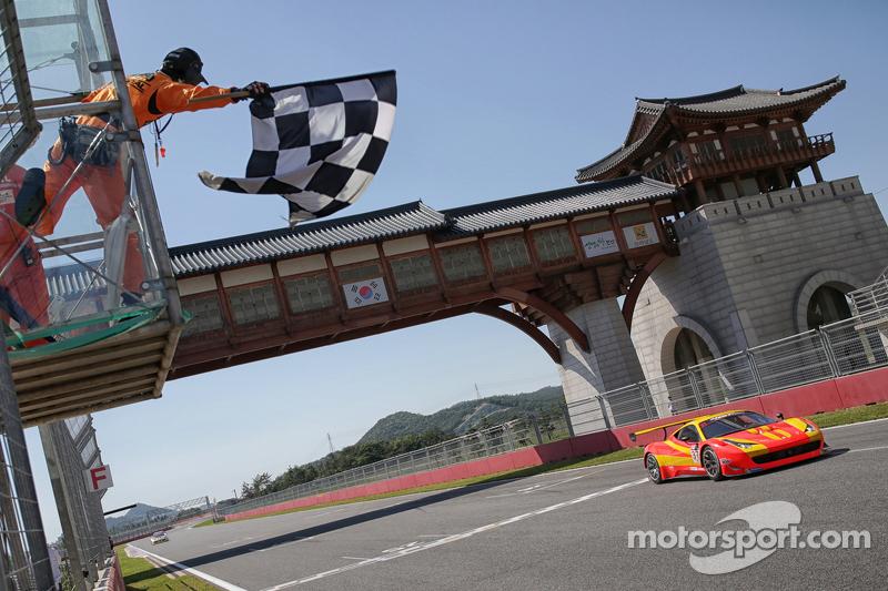 #36 BBT Team, Ferrari 458 Italia GT3: Davide Rizzo, Anthony Liu