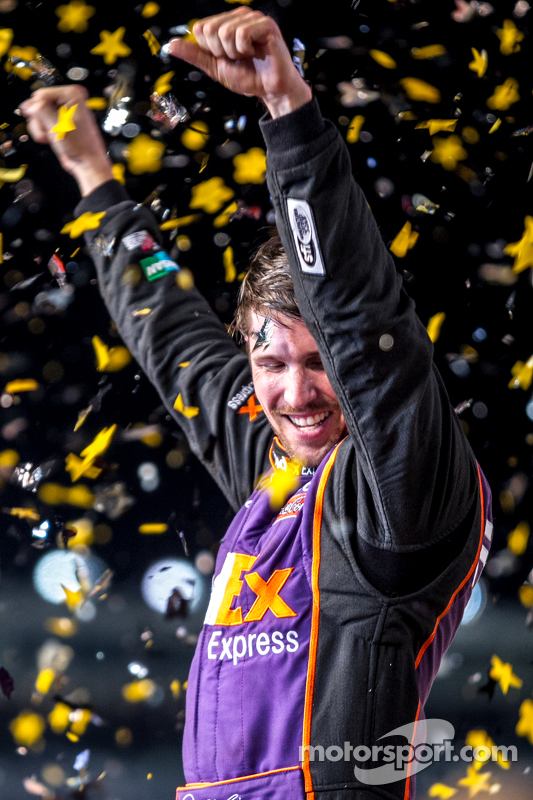Vencedor da prova Denny Hamlin, Joe Gibbs Racing Toyota