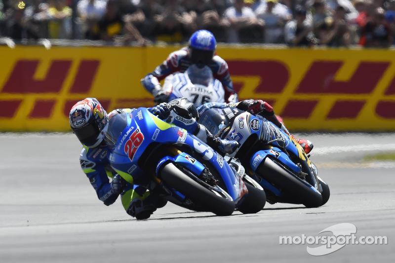 Маверік Віньялес, Team Suzuki MotoGP та Скотт Реддінг, Marc VDS Racing Honda