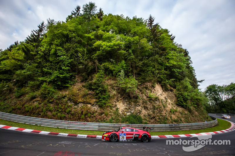#29 Audi Sport Team WRT, Audi R8 LMS: Nicki Thiim, Christer Jöns, Pierre Kaffer, Laurens Vanthoor