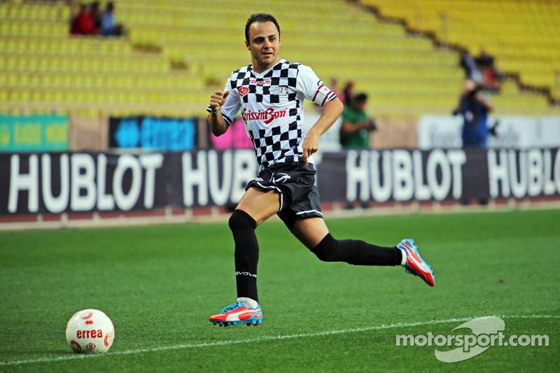 Felipe Massa, Williams beim Fußballspiel für den guten Zweck