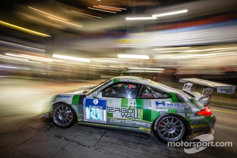 Boxenstopp für #74 Getspeed Performance, Porsche 997 GT3 Cup: Ulrich Berg, Patrik Kaiser, Maxence Maurice, Camilo Echevarria