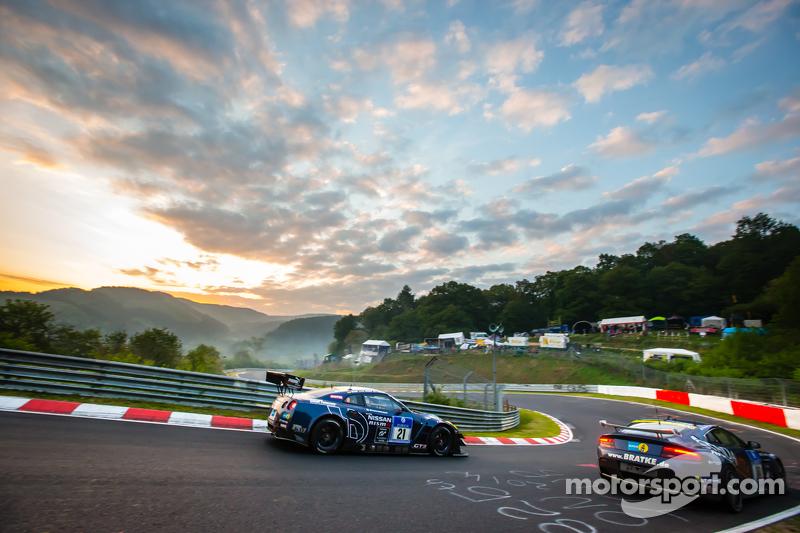 #21 Schulze Motorsport, Nissan GT-R Nismo GT3: Tobias Schulze, Michael Schulze, Florian Strauss, Jor