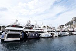 Boats в scenic Monaco Harbour