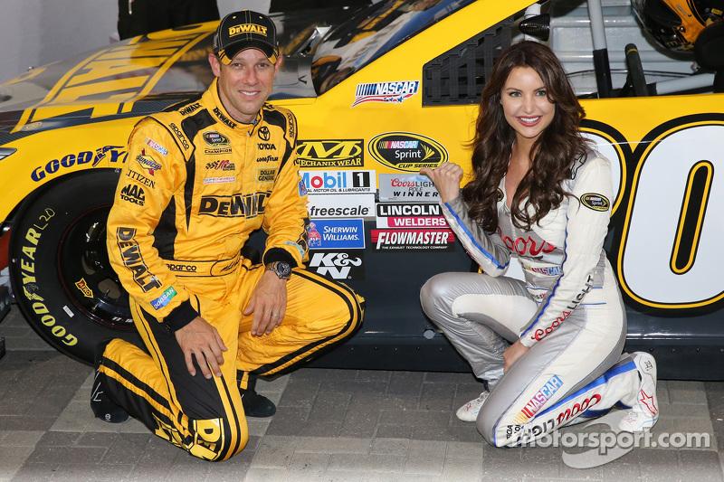 Pole-Sitter: Matt Kenseth, Joe Gibbs Racing, Toyota, mit Miss Coors-Light