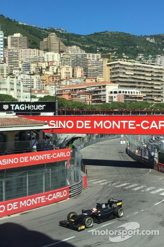 Мартін Брандл GP2 Pirelli test