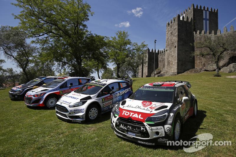 Teams-Fotoshooting: Volkswagen Motorsport, Hyundai Motorsport, M-Sport Ford WRC, Citroën World Rally