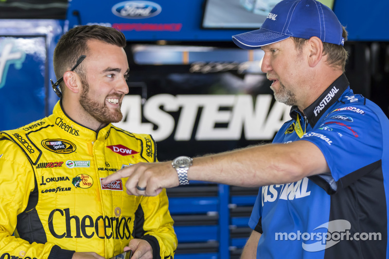 Austin Dillon, Richard Childress Racing, Chevrolet, mit Mike Kelley