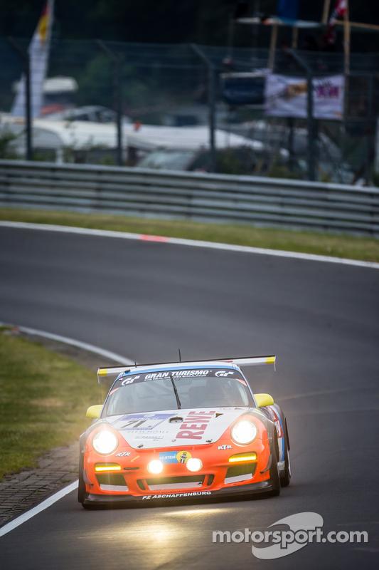 #71 Teichmann Racing, Porsche 997 GT3 Cup: Jens Esser, Ercan Kara-Osman