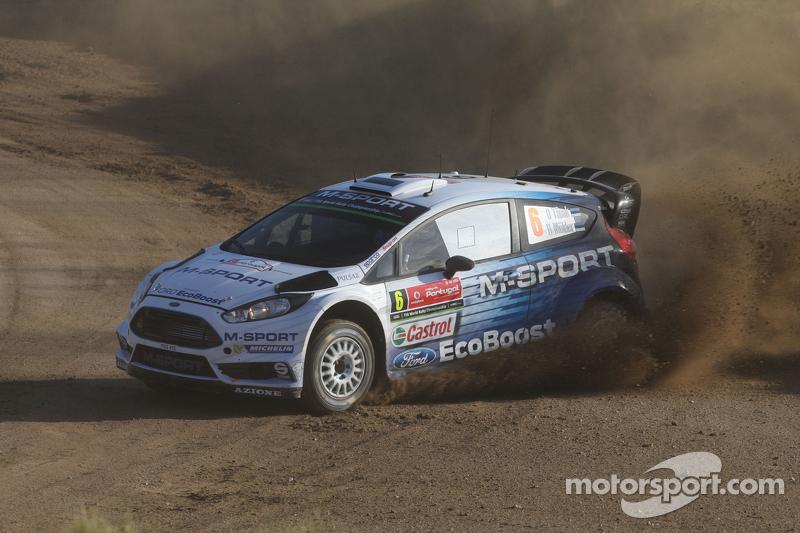 Ott Tanak and Molder Raigo, Ford Fiesta R5 M-Sport World Rally Team