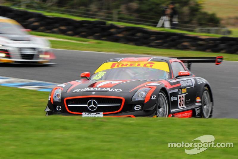 Max Twigg, Geoff Emery, Mercedes Benz AMG