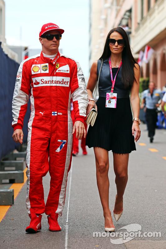 Kimi Räikkönen mit Minttu Virtanen