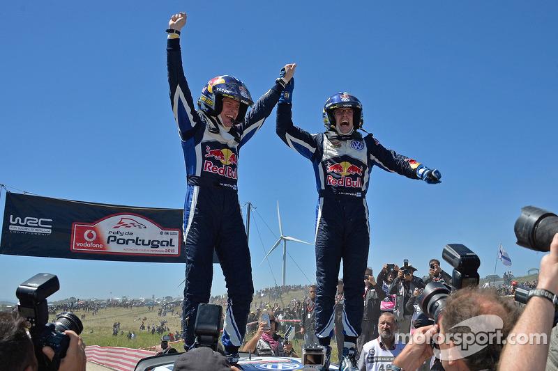 1. Jari-Matti Latvala und Miikka Anttila, Volkswagen Polo WRC, Volkswagen Motorsport