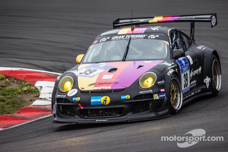 #39 Kremer Racing, Porsche 911 GT3 KR: Eberhard Baunach, Wolfgang Kaufmann, Maik Rönnefahrt