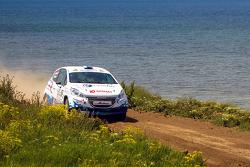 Григорий Бурлуцкий и Иван Ефремов, Peugeot 208 R2