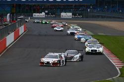 #6 Phoenix Racing, Audi R8 LMS: Shaun Thong, Marchy Lee, Markus Winkelhock
