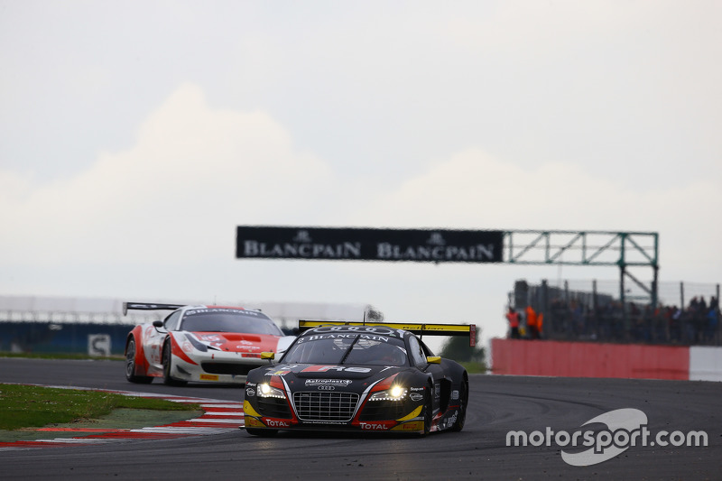 #2 Belgian Audi Sport Team WRT, Audi R8 LMS: James Nash, Philippe Gaillard, David Hallyday
