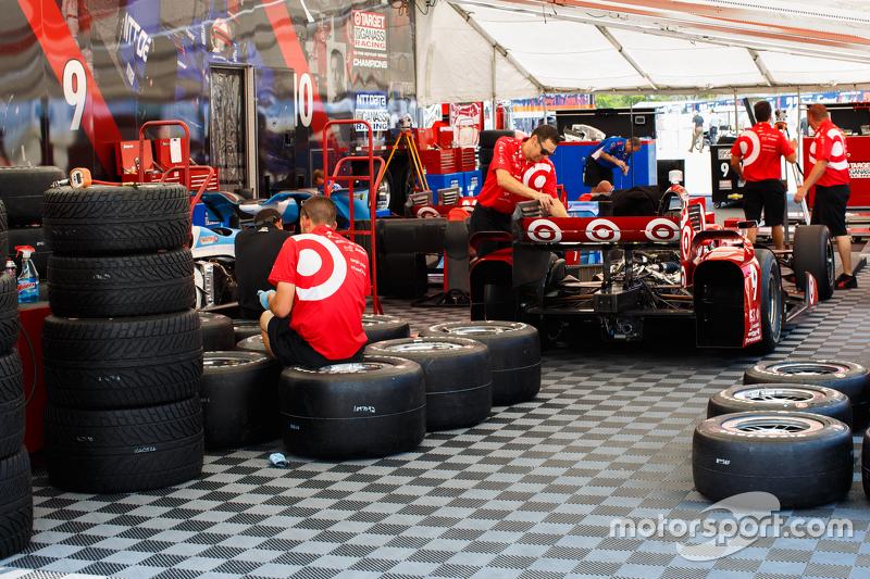 Chip Ganassi Racing team area