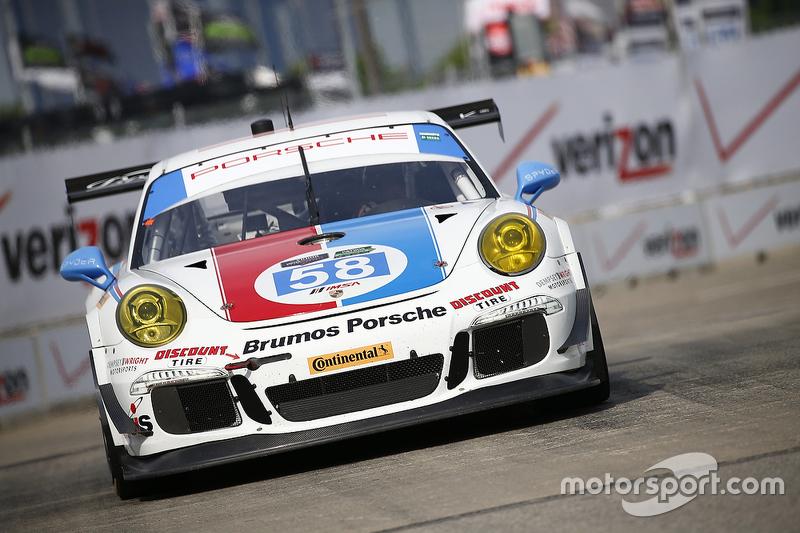 #58 Wright Motorsports, Porsche 911 GT America: Madison Snow, Jan Heylen