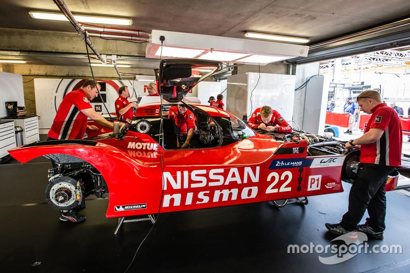 #22 Nissan Motorsports, Nissan GT-R LM NISMO