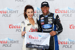 Polesitter Darrell Wallace Jr., Roush Fenway Racing Ford