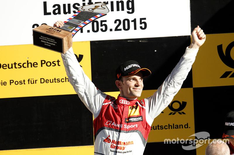 Podium: 1st Jamie Green, Audi Sport Team Rosberg Audi RS 5 DTM