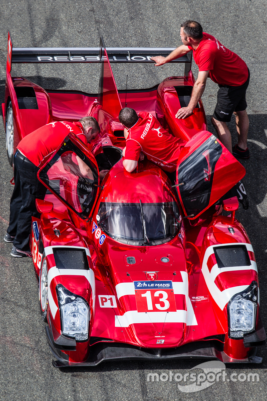 #13 Rebellion Racing, Rebellion R-One