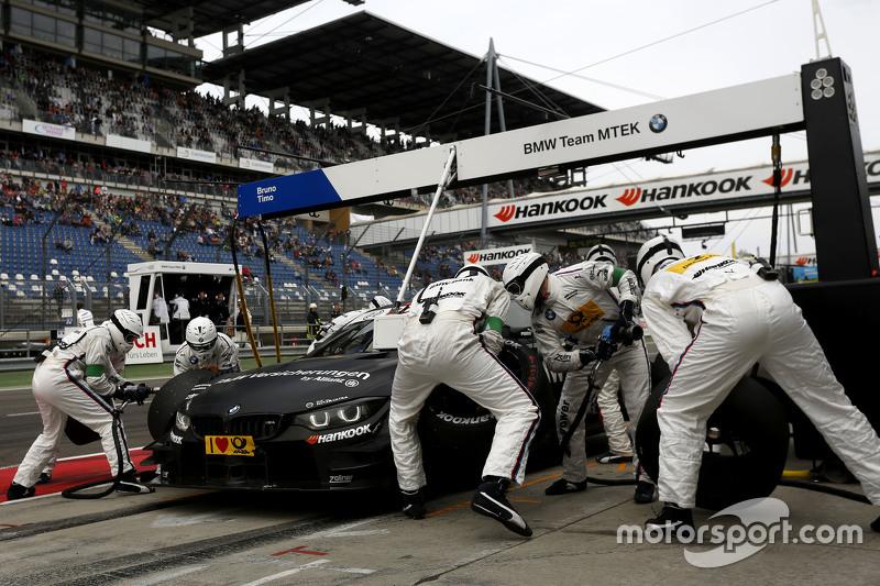Boxenstopp für Bruno Spengler, BMW Team MTEK, BMW M4 DTM