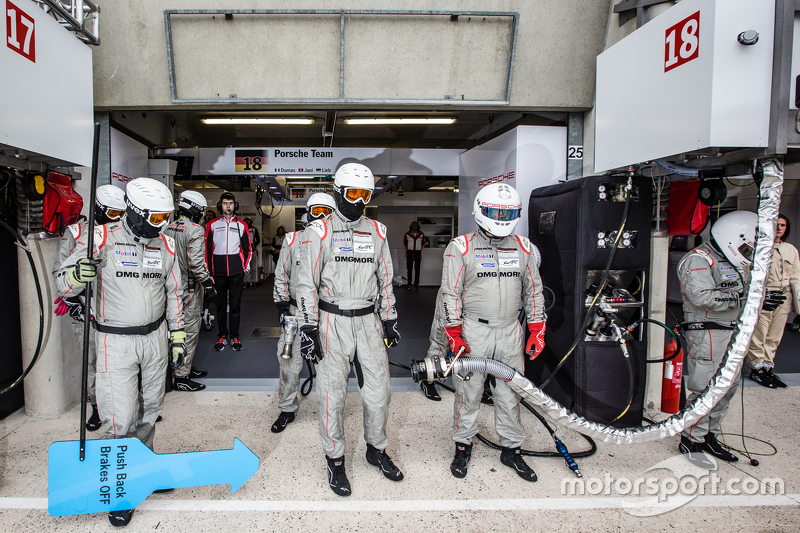 Porsche Team Porsche 919 Hybrid team members