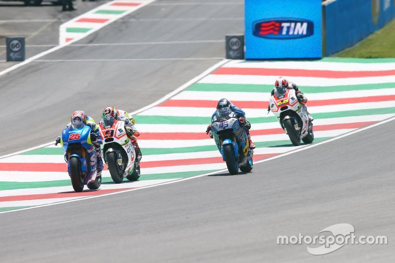 Maverick Viñales, Suzuki MotoGP Takımı ve Danilo Petrucci, Pramac Racing Ducati ve Scott Redding, Ma