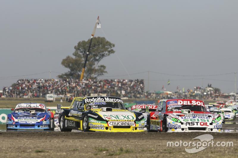 Omar Martinez, Martinez Competicion Ford and Juan Pablo Gianini, JPG Racing Ford and Matias Rodriguez, UR Racing Dodge