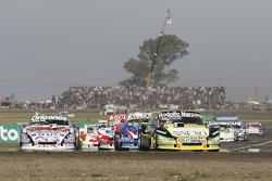 Omar Martinez, Martinez Competicion, Ford; Matias Rodriguez, UR Racing, Dodge; Matias Jalaf, Alifraco Sport, Ford, und Camilo Echevarria, Coiro Dole Racing, Torino