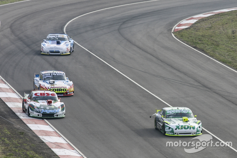Agustin Canapino, Jet Racing Chevrolet; Carlos Okulovich, Maquin Parts Racing Torino; Lionel Ugalde,