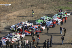 Technical scrutineering Camilo Echevarria, Coiro Dole Racing Torino and Guillermo Ortelli, JP Racing