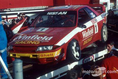 Rick Kelly guida la Nissan GTR 1992