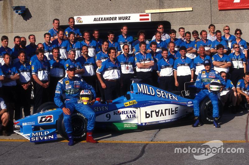 Foto del equipo Benetton