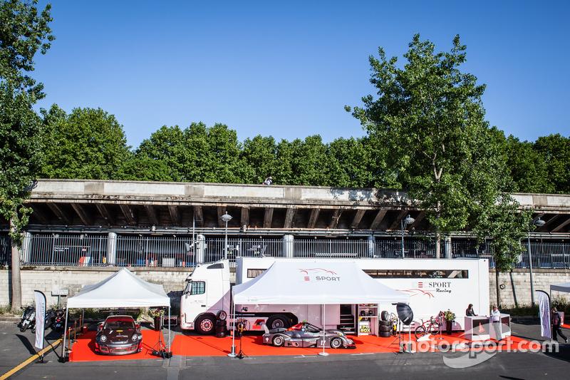 Загальний view IDEC Sport Racing presentation