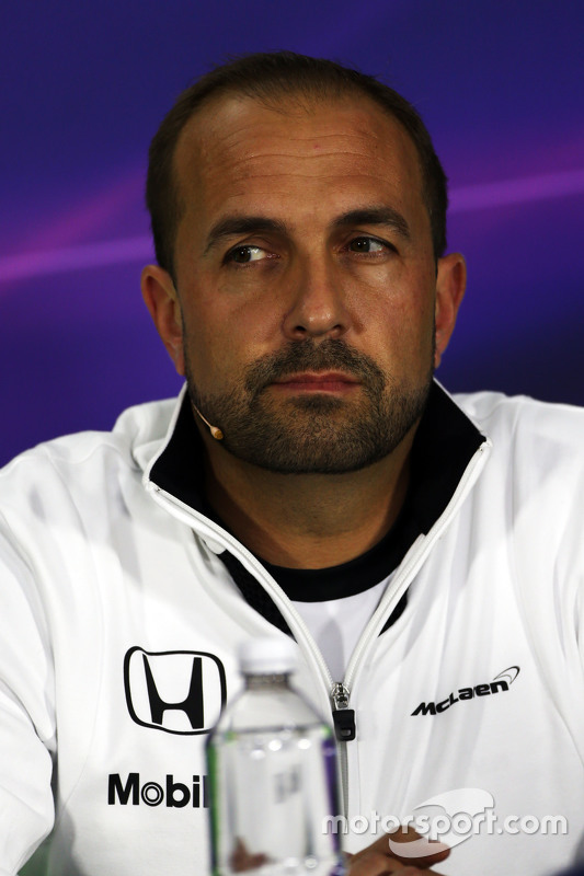 Метт Морріс, McLaren Engineering Director на пресс-конференції FIA