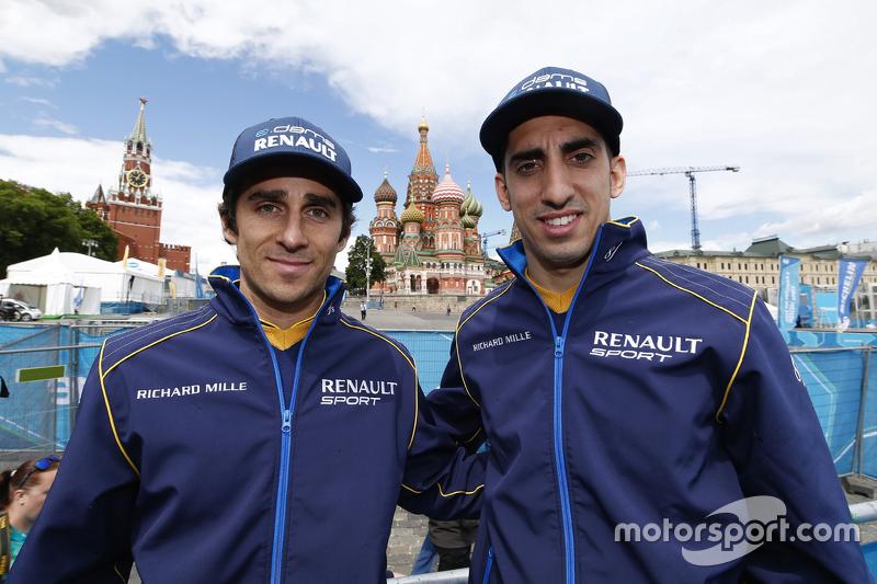 Ніколас Прост та Себатьен Буемі, e.dams-Renault Formula E Team