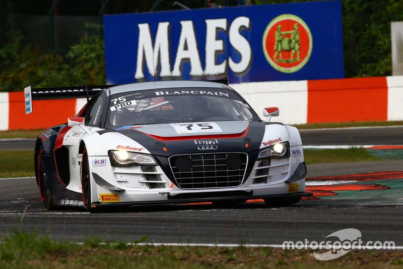 #75 ISR, Audi R8 LMS Ultra: Filip Salaquarda, Marco Bonanomi